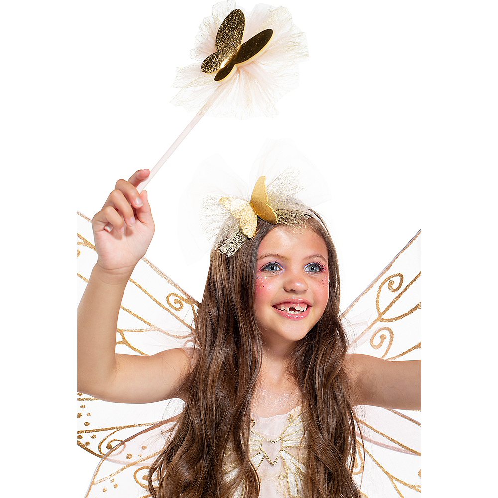 Child Light-Up Butterfly Fairy Costume Image #3