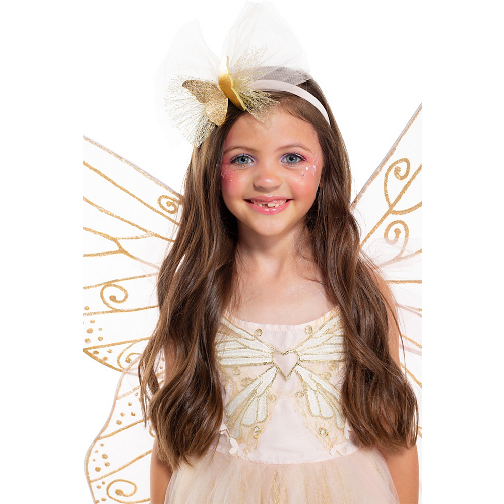 Child Light-Up Butterfly Fairy Costume Image #4