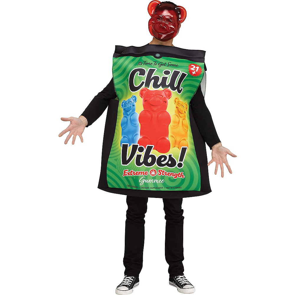 Adult Chill Vibes Gummee Bear Costume Image #1