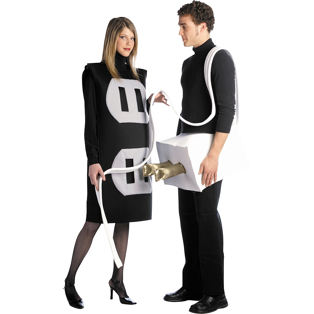 Nav Item for Adult Plug & Socket Costume Image #1