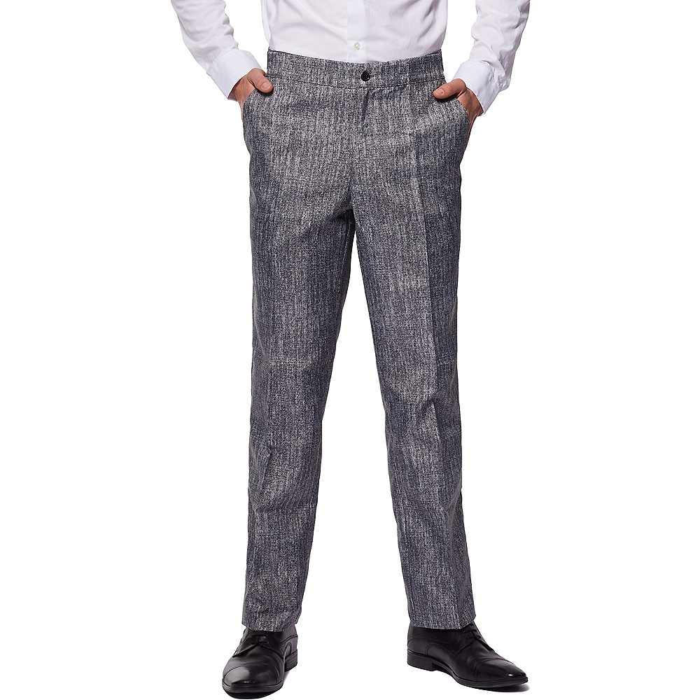 Adult Gray 20s Gangster Costume Image #2