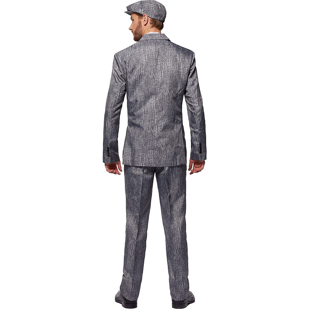 Adult Gray 20s Gangster Costume Image #4