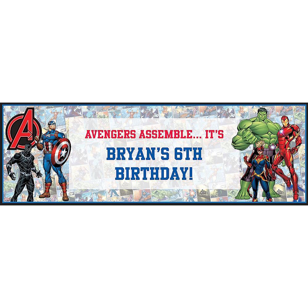 Custom Marvel Powers Unite Horizontal Banner Image #1