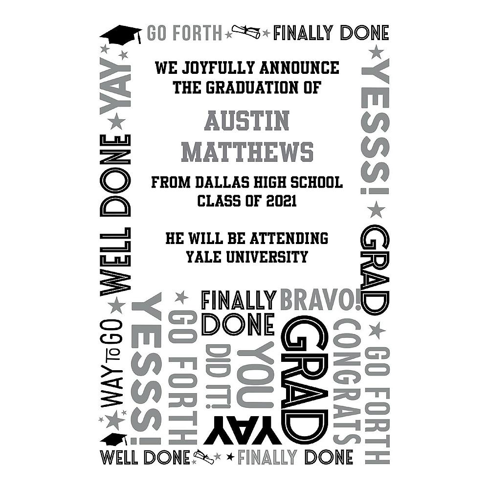Graduation College Grad Announcements