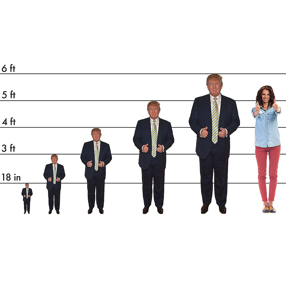Donald Trump Cardboard Cutout, 3ft Image #2