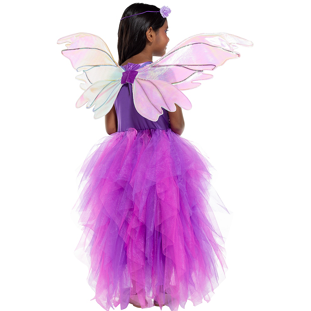 Child Light-Up Flower Fairy Costume Image #2