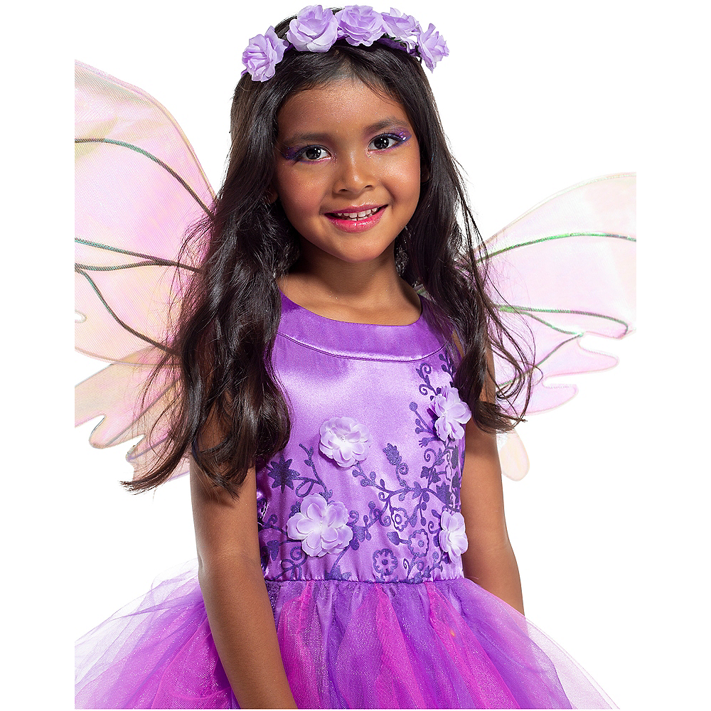 Child Light-Up Flower Fairy Costume Image #3