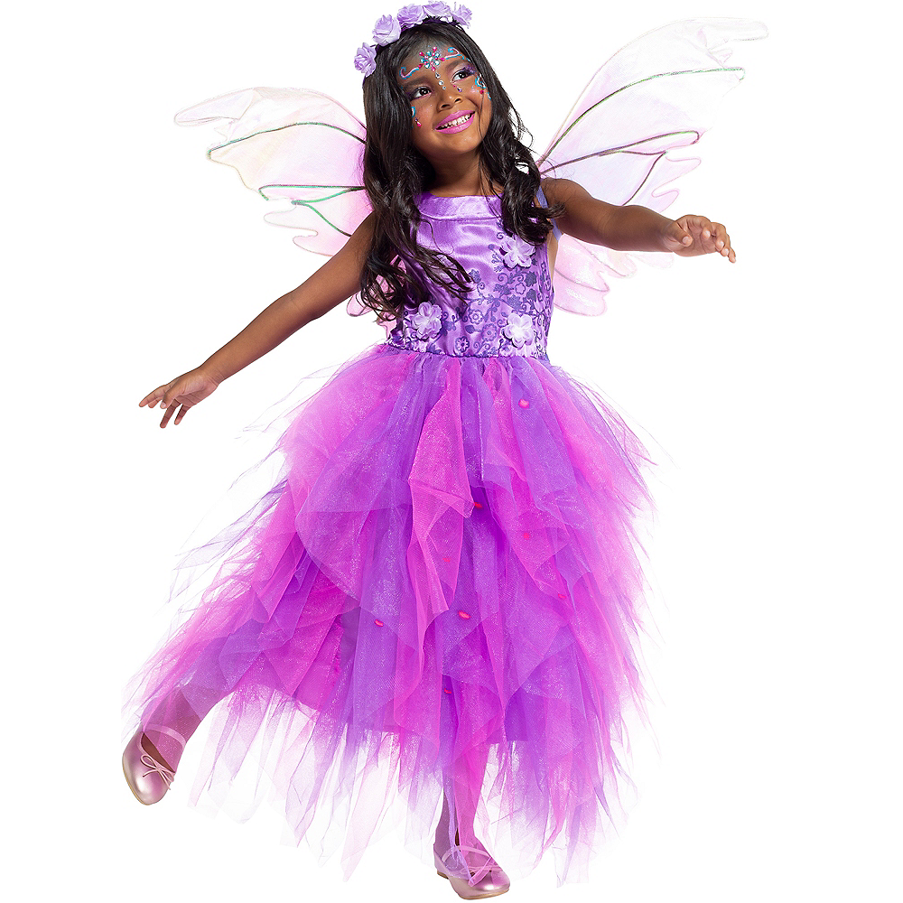 Child Light-Up Flower Fairy Costume Image #4