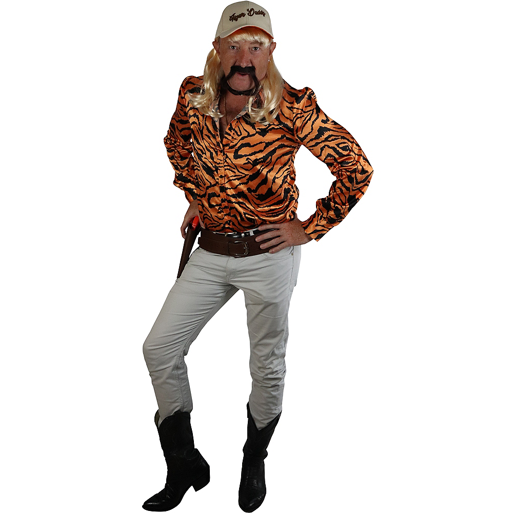 Adult Tiger Lover Costume Accessory Kit Image #1