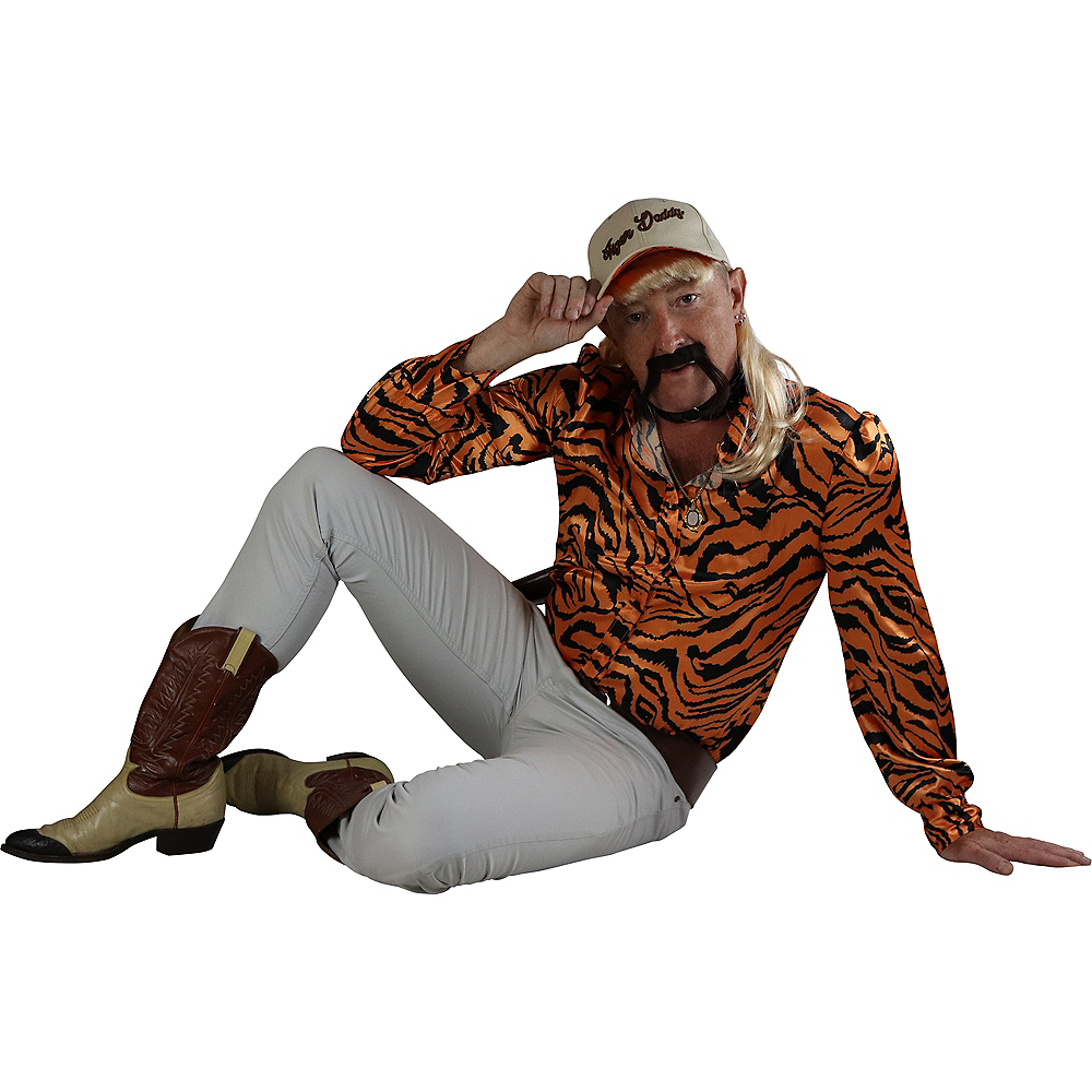 Adult Tiger Lover Costume Accessory Kit Image #2