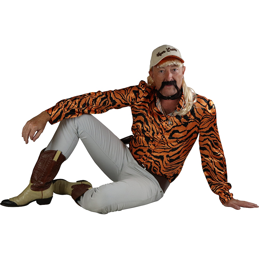 Adult Tiger Lover Costume Accessory Kit Image #3