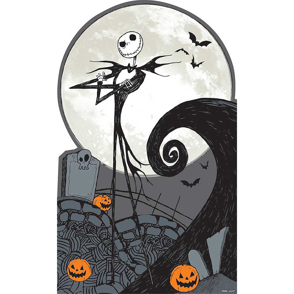 Nightmare Before Christmas Jack Skellington Standee Image #1