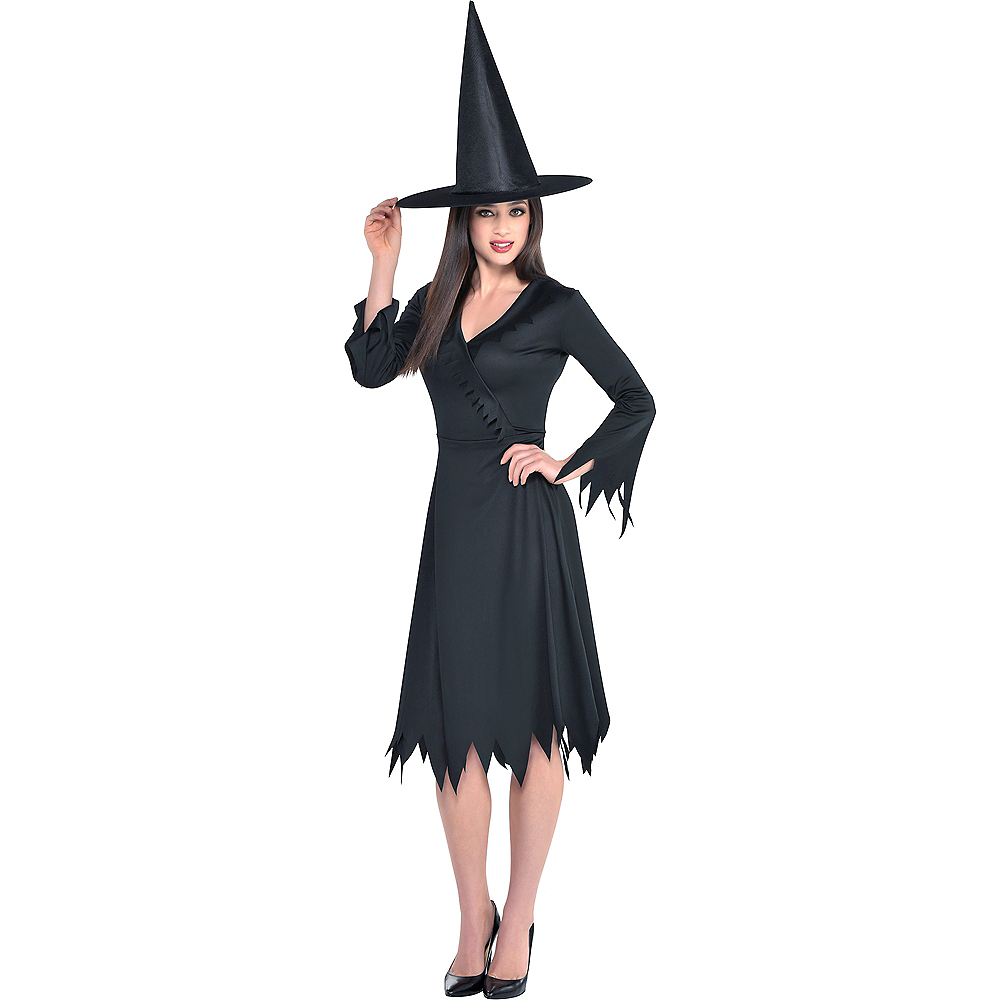 Black Adult Women/'s Witch Hat For Halloween Costume Party Accessory Decoration