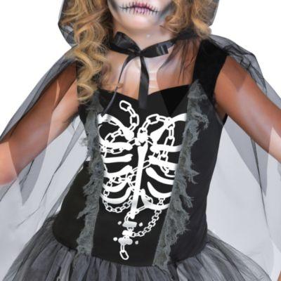 Girls Grim Reaper Costume Party City