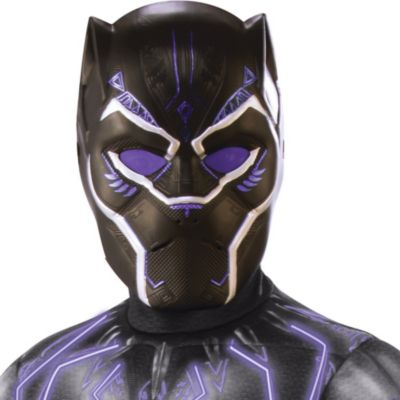 Boys Light Up Black Panther Costume Black Panther Movie Party City Featuring the style of captain marvel's signature red, blue, and gold suit, this awesome jumpsuit will transform you into your favorite marvel superhero in no time at all. boys light up black panther costume black panther movie