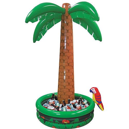 Jumbo Inflatable Palm Tree Cooler Image #1