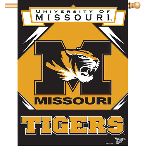 Missouri Tigers Banner Flag Image #1