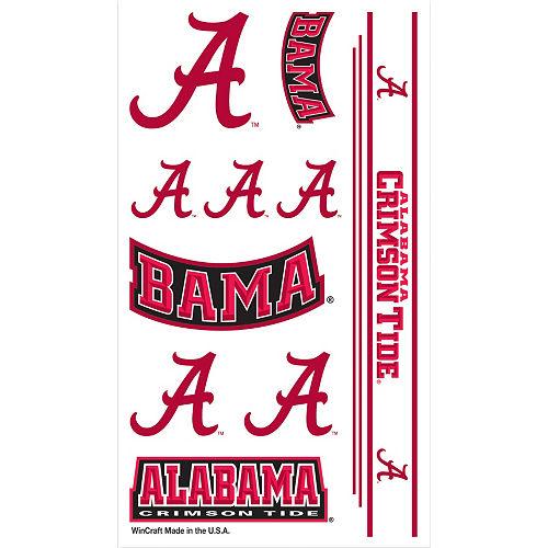 Alabama Crimson Tide Tattoos 10ct Image #1