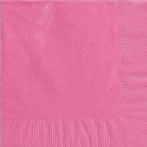 Bright Pink Dinner Napkins 20ct Image #1