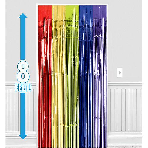 Rainbow Fringe Doorway Curtain Image #1