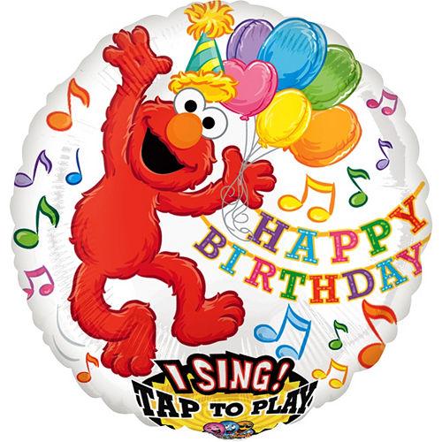Elmo Balloon - Singing, 28in Image #1