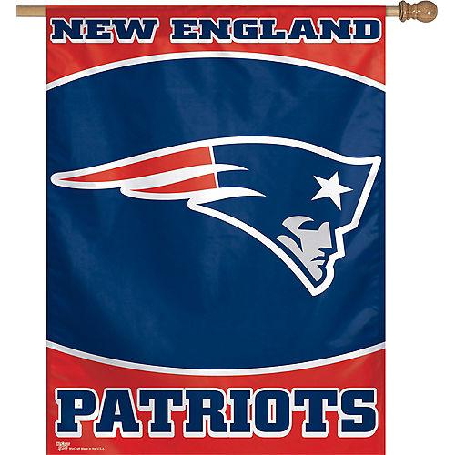 New England Patriots Banner Flag Image #1