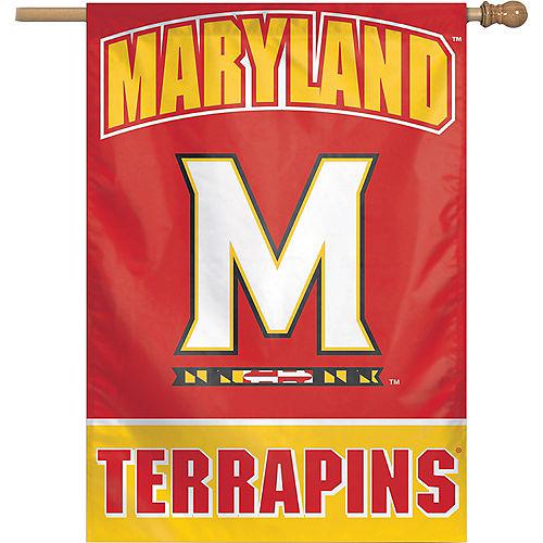 Maryland Terrapins Banner Flag Image #1