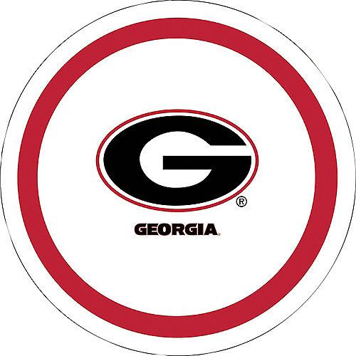 Georgia Bulldogs Lunch Plates 10ct Image #1