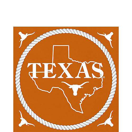 Texas Longhorns Lunch Napkins 16ct Image #1