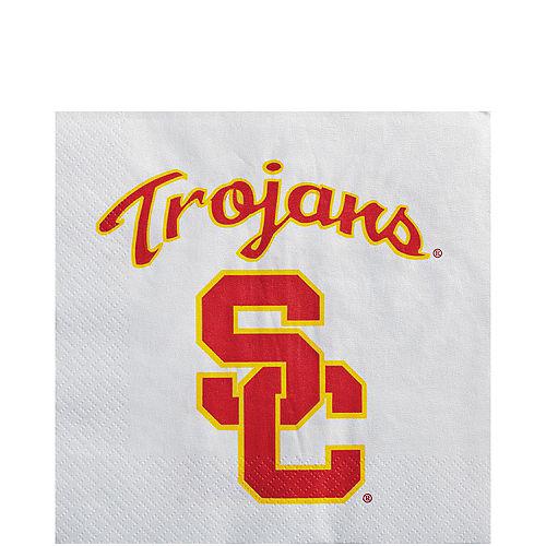 USC Trojans Lunch Napkins 20ct Image #1