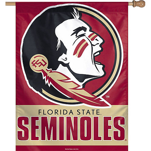 Florida State Seminoles Vertical Flag Image #1