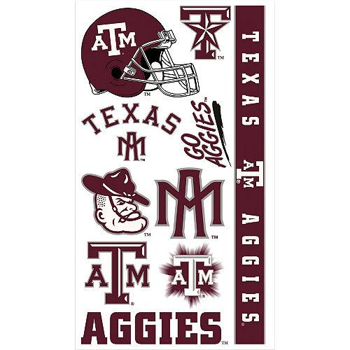 Texas A&M Aggies Tattoos 10ct Image #1