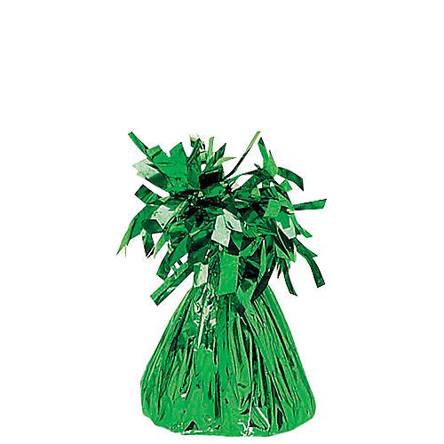 Green Foil Balloon Weight 6oz Image #1