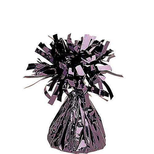 Black Foil Balloon Weight Image #1