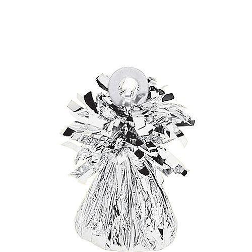 Nav Item for Silver Foil Balloon Weight 6oz Image #1
