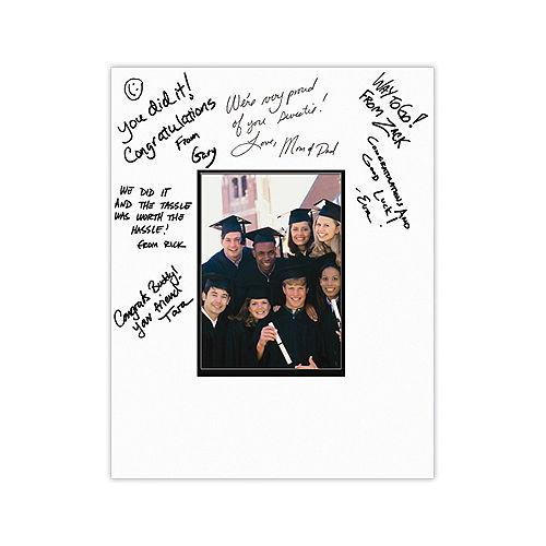 Graduation Autograph Photo Matte Image #1
