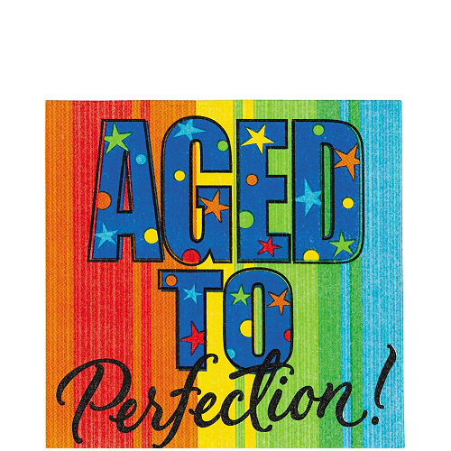 Aged to Perfection Lunch Napkins 16ct Image #1