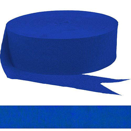 Royal Blue Streamer Image #1