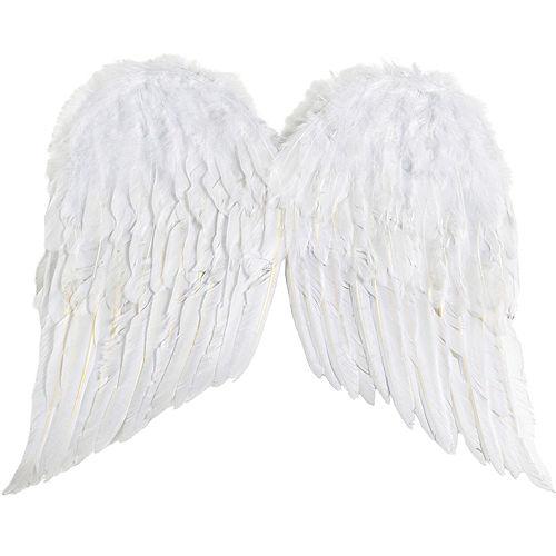 White Angel Wings Image #2