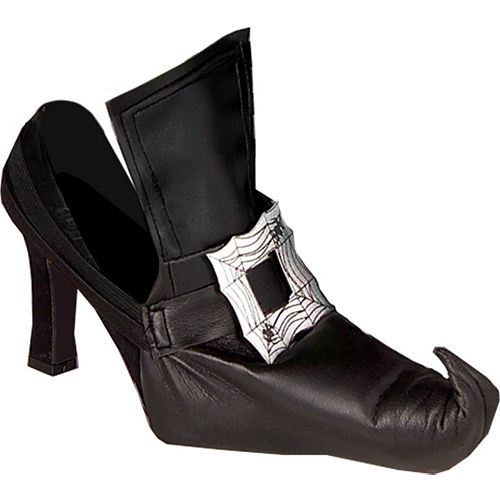 Adult Witch Shoe Covers Image #1