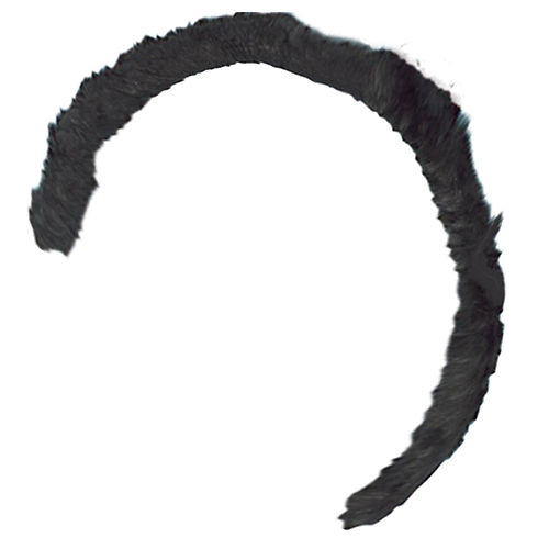 Black Cat or Mouse Fur Tail Image #1