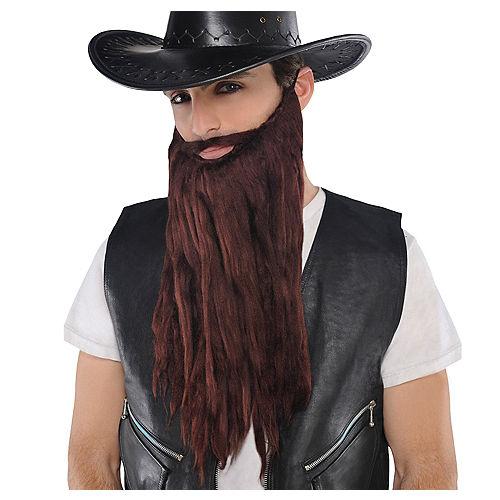 Brown Moustache & Beard Image #1