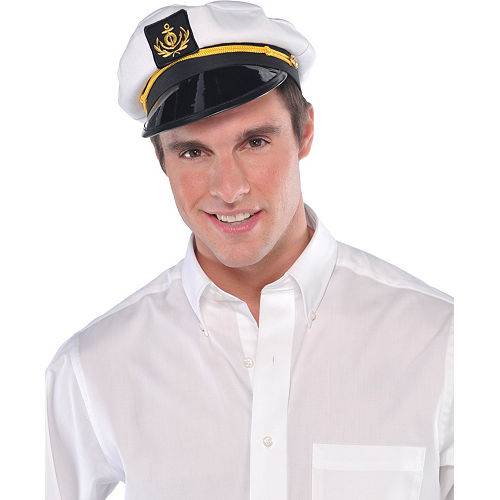 Skipper Captain Hat Image #2