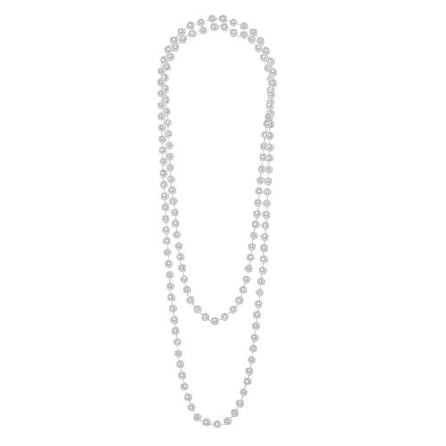 Faux Pearl Necklace Image #1