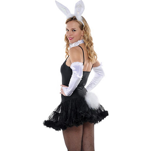 White Bunny Tail Image #2