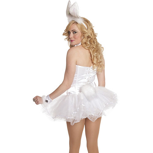White Bunny Tail Image #3