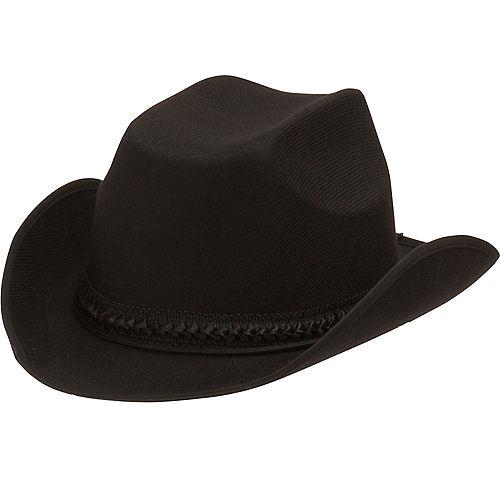 Child Black Cowboy Hat Image #1