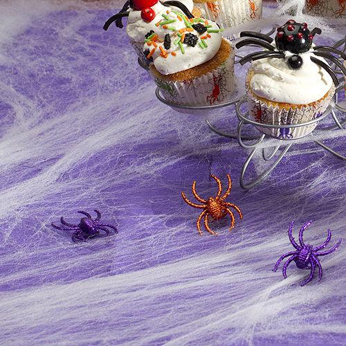 White Stretch Spider Web Image #4