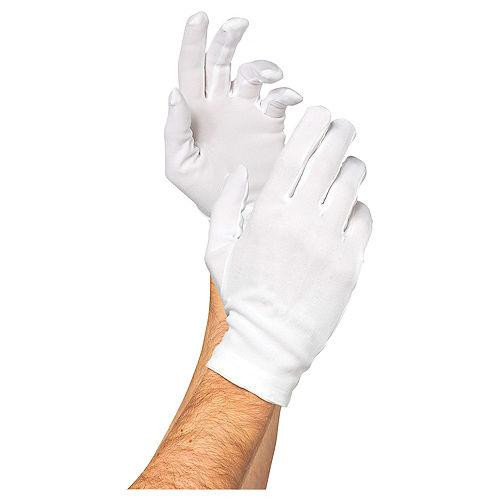 Adult Santa Gloves Image #1