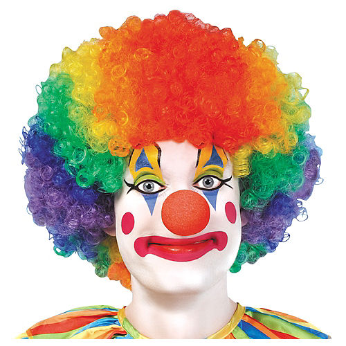 Jumbo Clown Wig Image #1